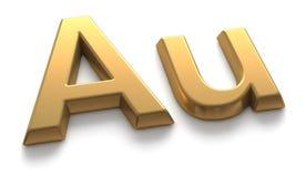 Symbool van goud Stock Fotografie