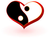 Symbool van hart Stock Foto's