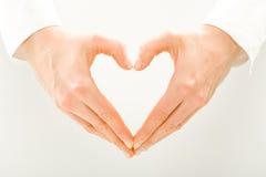 Symbool van hart Stock Afbeelding