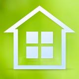 Symbool van het huis Stock Fotografie