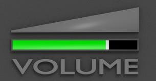 Symbool van het volume Stock Afbeelding