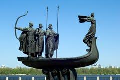 Symbool van Kiev royalty-vrije stock foto