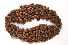 Symbool van koffie Stock Foto's