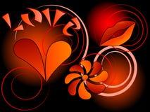 Symbool van liefde Royalty-vrije Stock Fotografie