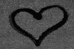 Symbool van liefde - een hart Royalty-vrije Stock Afbeelding