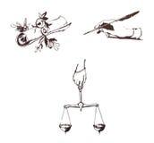 symbool van literatuur Royalty-vrije Stock Afbeeldingen