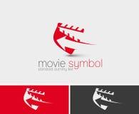 Symbool van Movie Maker vector illustratie