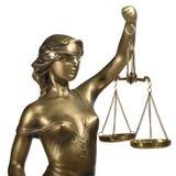 Symbool van rechtvaardigheid Royalty-vrije Stock Afbeelding