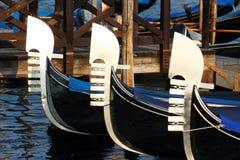 Symbool van Venezia stock foto