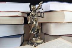 Symbool van wet en rechtvaardigheid Stock Afbeelding