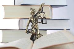 Symbool van wet en rechtvaardigheid Stock Fotografie