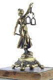 Symbool van wet en rechtvaardigheid Royalty-vrije Stock Fotografie
