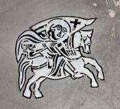 Symbool van Zadar van de stad Stock Foto