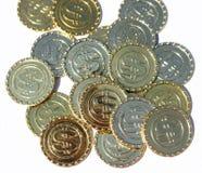 Symbool voor bitcoin blockchain technologie Royalty-vrije Stock Afbeeldingen