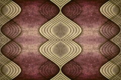 Symetrical Abstract Background Design stock illustration