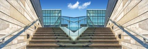 Symetrie van treden Stock Afbeeldingen