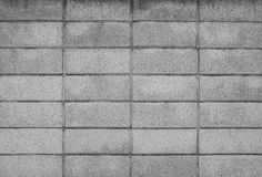 Symetry of brick wall pattern use as material texture ,backgroun Stock Photo