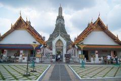 Symetry of Wat Arun Royalty Free Stock Photos