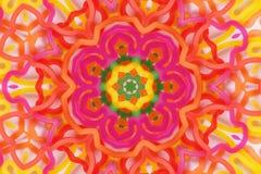 Symetryczny odbicie lustrzane niektóre kolorowi gumowi zespoły ilustracja wektor