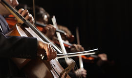 Symfonia koncert Obraz Stock