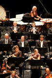 Symfoniczna Savaria Orkiestra wykonuje Obrazy Royalty Free