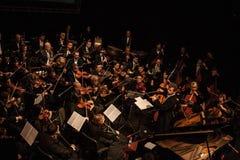 Symfoniorkester Arkivfoto