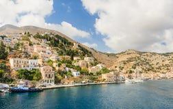 Symi ö Grekland Royaltyfri Bild