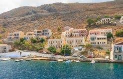 Symi ö Grekland Royaltyfria Foton