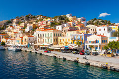 Symi Греция Европа Стоковые Фото