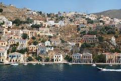 symi острова Греции стоковые изображения