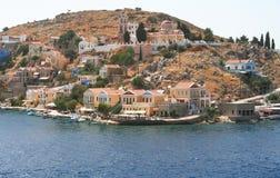 symi острова Греции Стоковое фото RF