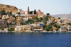 symi острова Греции стоковые фотографии rf