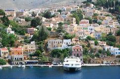 symi острова Греции стоковое изображение rf