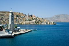 Symi Royalty Free Stock Photography