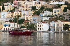 Symi, Dodecanese island, Greece Stock Photography