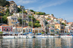 Symi in Dodecanese islands, Greece Stock Photography