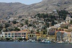 Symi Grecka wyspa zdjęcia royalty free