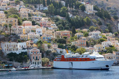 Symi-Insel, Griechenland Stockfoto
