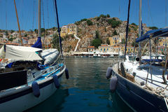 Symi island Royalty Free Stock Photo
