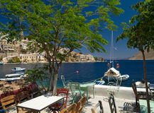 Symi island Royalty Free Stock Images