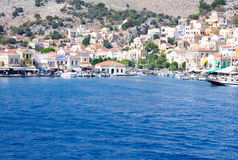 Symi Island in the Aegean Sea. Stock Images