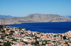 Symi island, Greece Stock Image