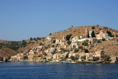 Symi island, Greece Royalty Free Stock Photography