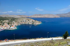 Symi island in Greece Royalty Free Stock Photography