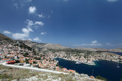 Symi island in Greece Royalty Free Stock Photo