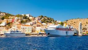 Symi Island Greece Stock Photography