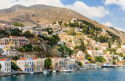 Symi Island. Greece Royalty Free Stock Photos