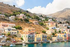 Symi Island. Greece Stock Images