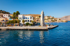 Symi Island Greece Stock Image