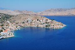 Symi island, Greece Royalty Free Stock Photos